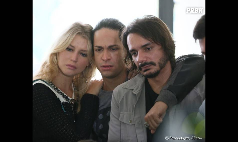 """Em """"Verdades Secretas"""": elenco grava enterro de Carolina (Drica Moraes)"""