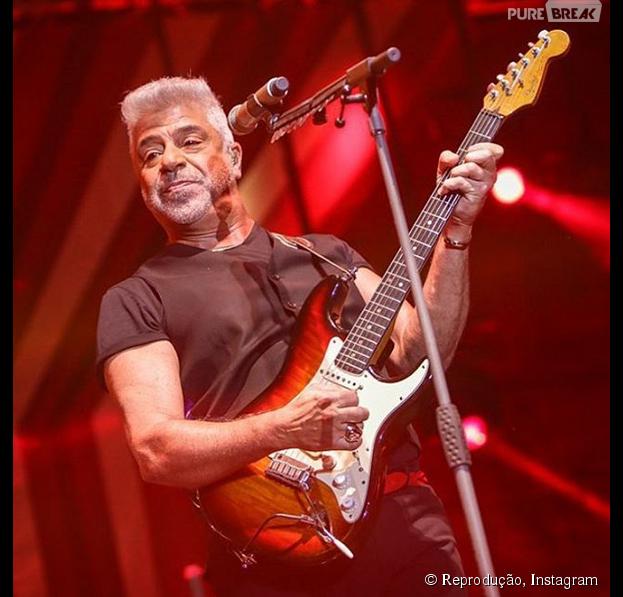 """Em 2015, Lulu Santos, do """"The Voice Brasil"""", participa pela terceira vez do Rock in Rio!"""