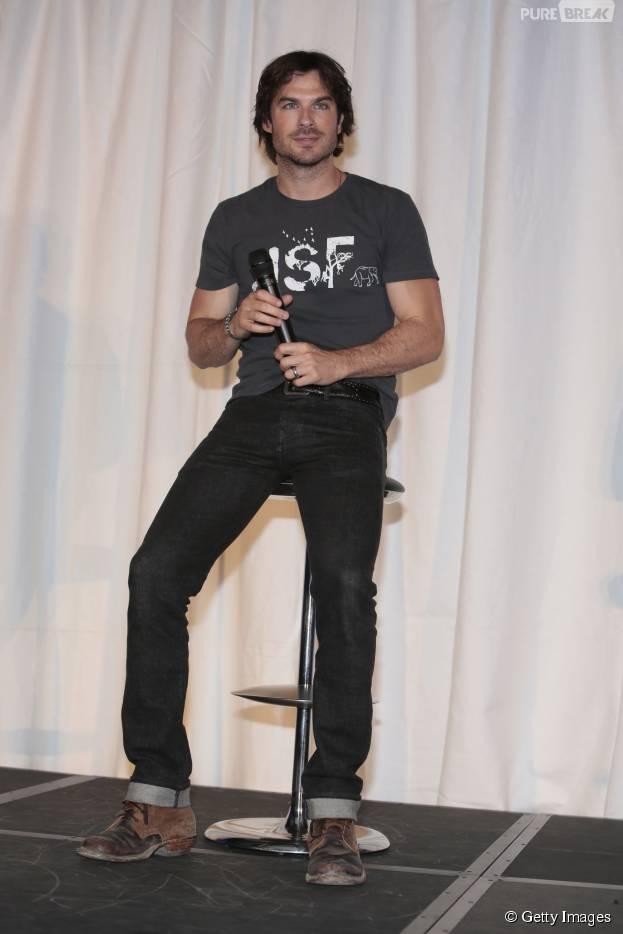 "Astro de ""The Vampire Diaries"", Ian Somerhalder revela querer ter filhos com Nikki Reed"