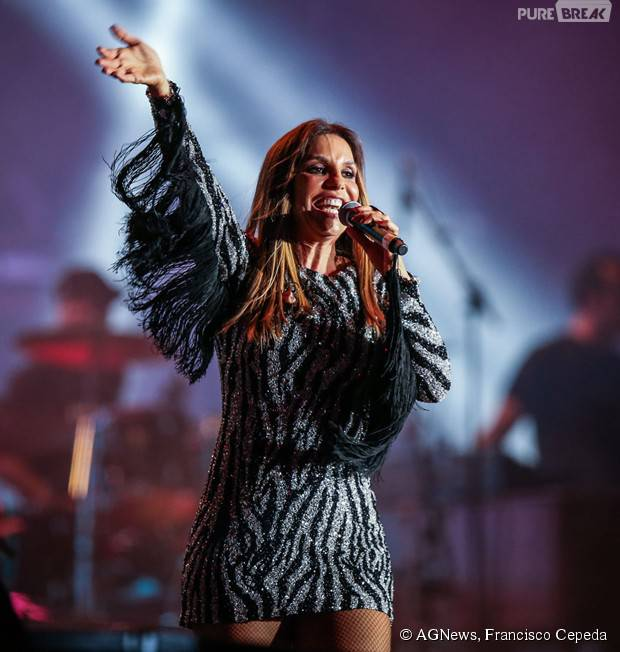 Ivete Sangalo participa do show de 30 anos do Rock in Rio 2015