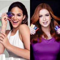 Bruna Marquezine ou Marina Ruy Barbosa? Quem tem a melhor linha de esmaltes?