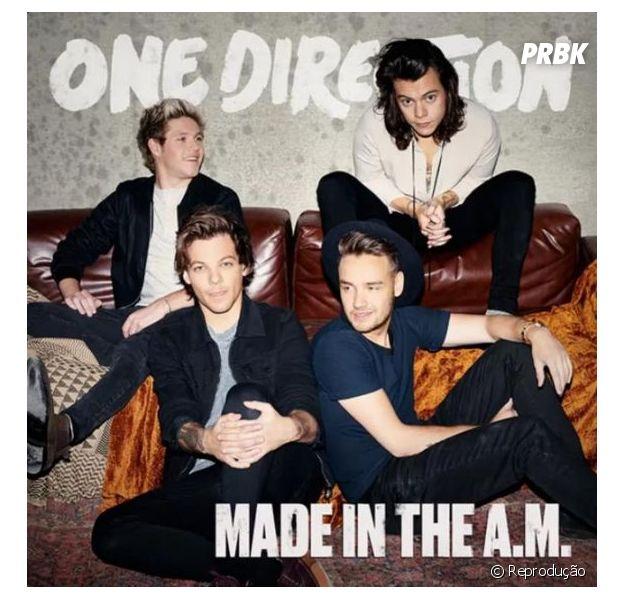 "One Direction anuncia ""Made In The A.M."", nome do quinto CD da boyband britânica"