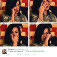 Katy Perry está deixando todo mundo emocionado com a sua chegada