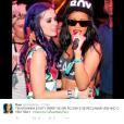 Sobrou até para Rihanna nessa! Bem que ela e Katy Perry podiam cantar juntas, né?