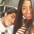 Gabriel Medina aproveitando a folga para curtir a namorada, Tayna Hanada