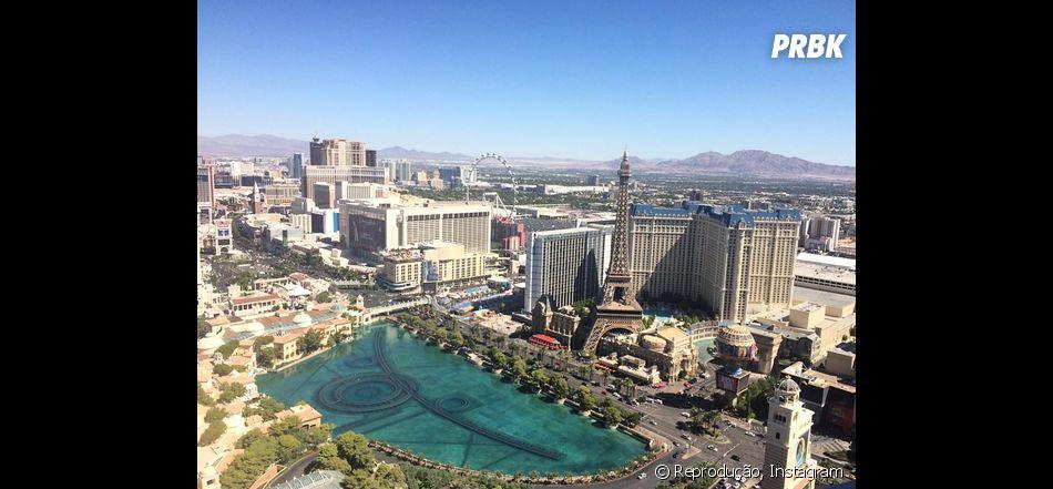 Vista do quarto do hotel de Gabriel Medina. Invejaram?!