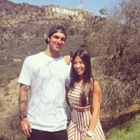Gabriel Medina, antes de retornar ao WCT, viaja de férias com a namorada Tayna Hanada para os EUA