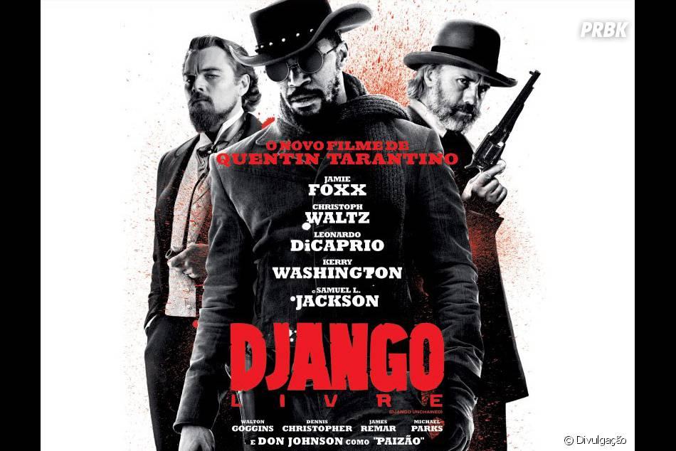 """""""Django Livre"""" ficou em segundo lugarna lista de filmes mais baixados de 2013"""