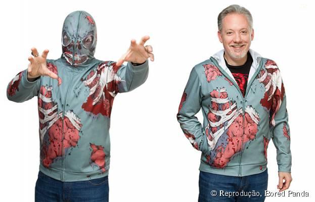 """Os fãs de """"The Walking Dead"""" vão pirar nessa casaco!"""