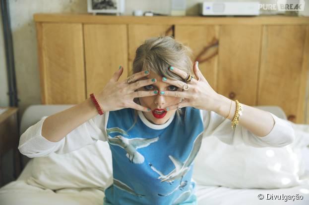 No Twitter, Taylor Swift brinca sobre boatos envolvendo seu namoro com Calvin Harris