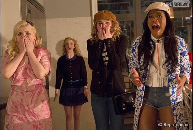 """Em """"Scream Queens"""": mesmo com doses de humor, a série continua com bastante suspense nesse terceiro episódio"""