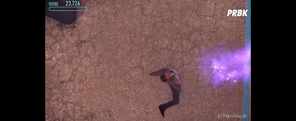 """Muita areia movediça em """"Tony Hawk's Pro Skater 5"""". Afinal, os personagens afundam"""