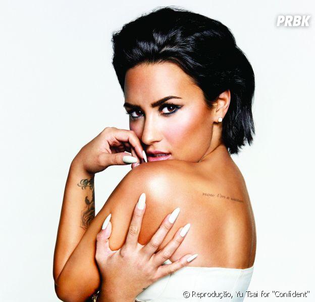 """Demi Lovato começa a gravar """"Confident"""" com diretorRobert Rodriguez"""