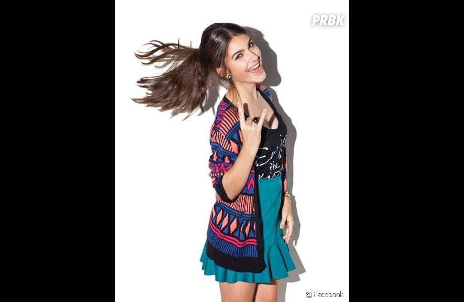 """Giovanna Grigio virou febre entre crianças e adolescentes ao interpretar a personagem Mili em""""Chiquititas"""", do SBT"""