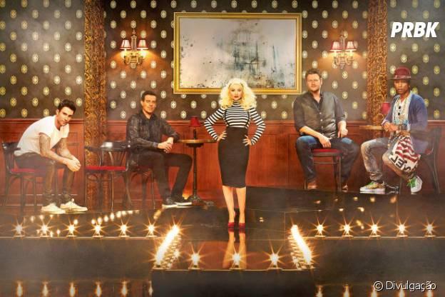 """Christina Aguilera retorna ao """"The Voice US"""" nesta quinta-feira (8)"""