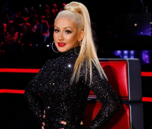 "Christina Aguilera está de volta ao ""The Voice US"""