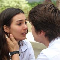 """Novela """"Malhação"""": Rodrigo (Nicolas Prattes) implora para voltar com Luciana"""