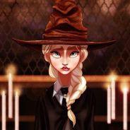 Elsa, Branca de Neve, Aladdin e outros personagens da Disney que foram parar em Hogwarts!