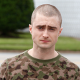 """Recentemente, Daniel Radcliffe teve que raspar a cabeça para o filme """"Imperium"""""""
