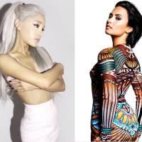 Duelo: Ariana Grande ou Demi Lovato? Quem teve a passagem mais avassaladora pelo Brasil?