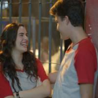 """Lívian Aragão e Gabriel Kaufmann, de """"Malhação"""", torcem para casal dar certo: """"Eles combinam muito"""""""