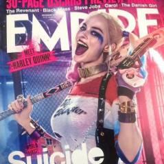 """De """"Esquadrão Suicida"""": Arlequina e Pistoleiro aparecem incríveis em capa de revista. Confira!"""