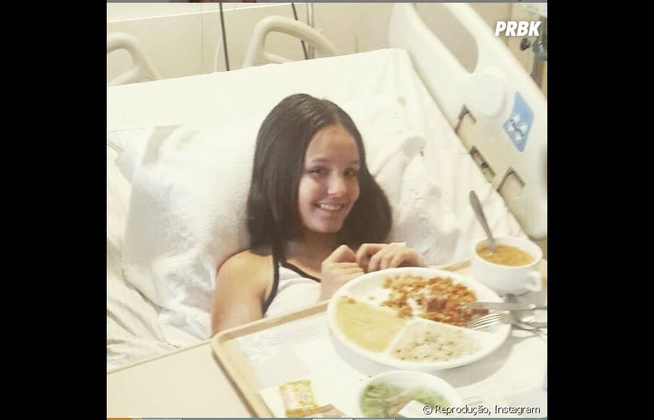 """Larissa Manoela, de """"Cúmplices de um Resgate"""", sofreu um acidente em junho"""