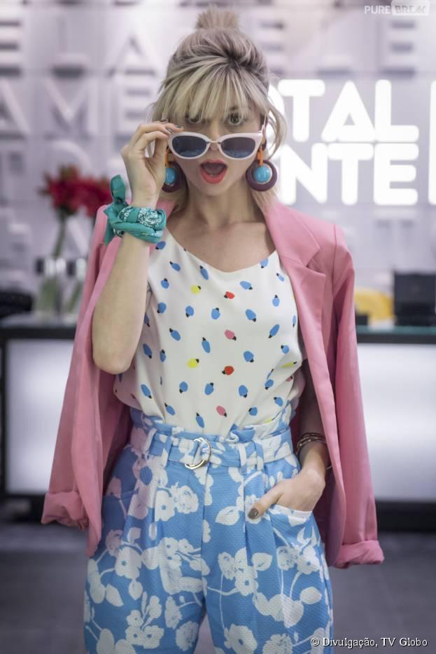 """Julianne Trevisol será uma blogueira toda cool e fashionista em """"Totalmente Demais"""", nova novela das 19h da Globo"""
