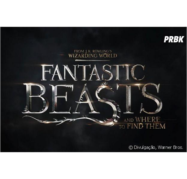 "Divulgado logotipo oficial de ""Animais Fantásticos e Onde Habitam"""