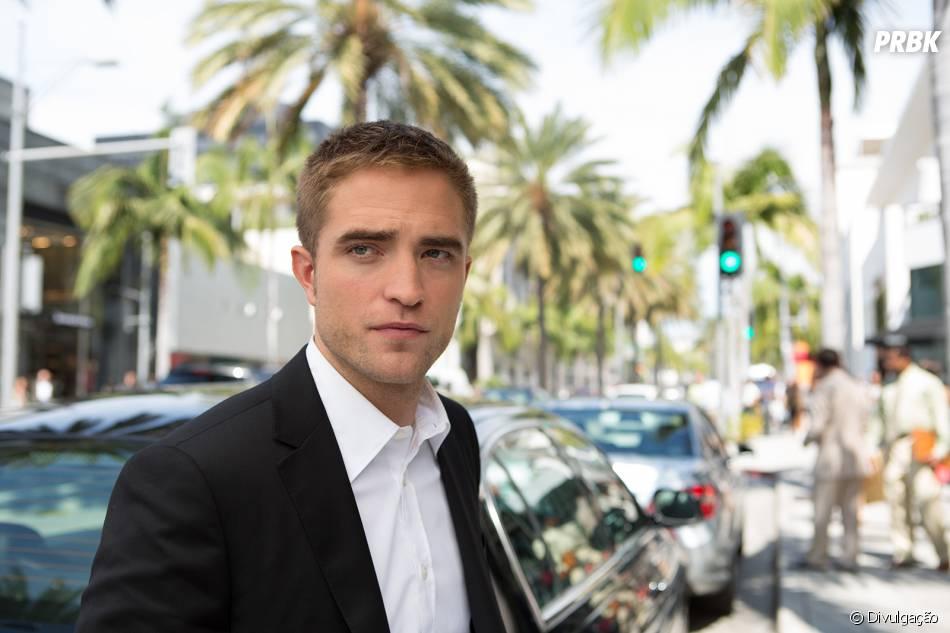Robert Pattinson beijou com 12 anos e segundo ele foi bem tranquilo ... 6b0c24d3ce