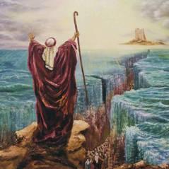 """Novela """"Os Dez Mandamentos"""": Moisés (Guilherme Winter) se prepara para abrir o Mar Vermelho!"""