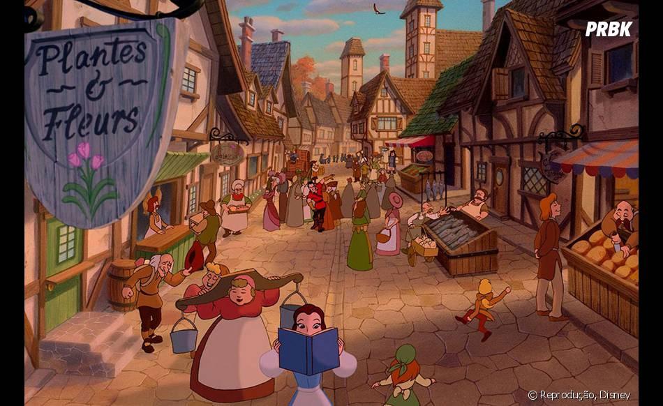 """Essa é a cidade onde vive Bela, de """"A Bela e a Fera"""""""