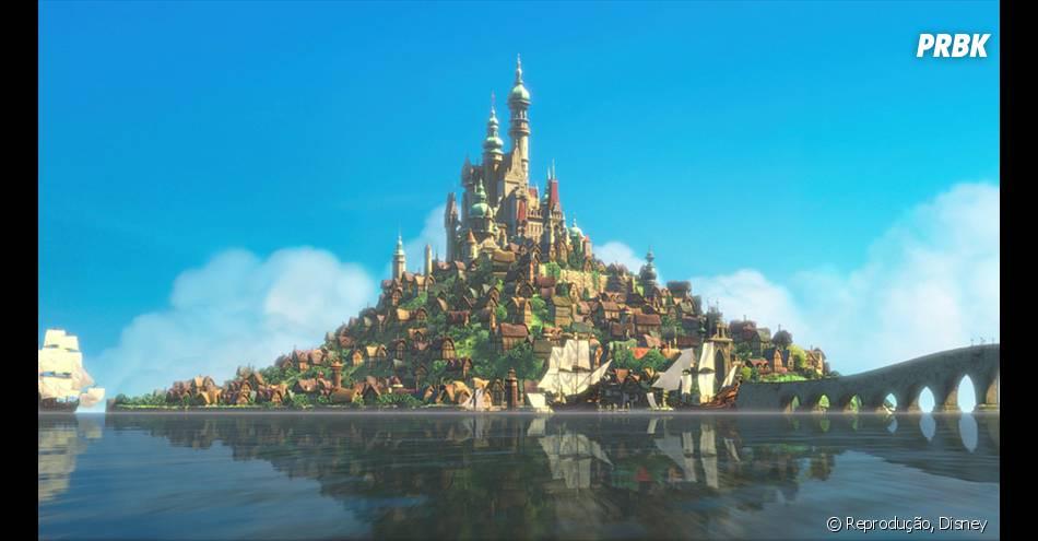 """E um lugar muito parecido com o do filme, """"Enrolados"""", existe na França"""