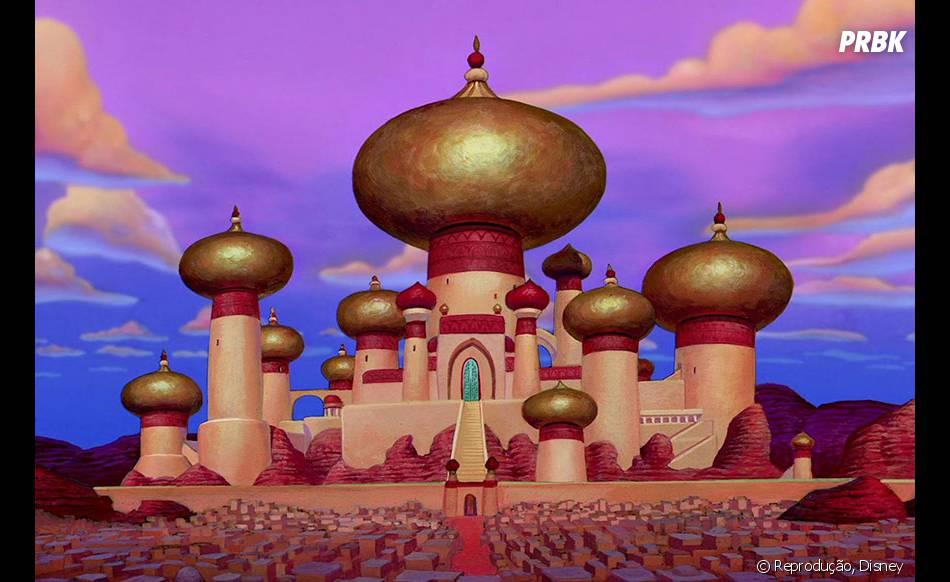 """Quem gosta de """"Aladdin"""", provavelmente ama os desenhos da região onde se passa a animação"""