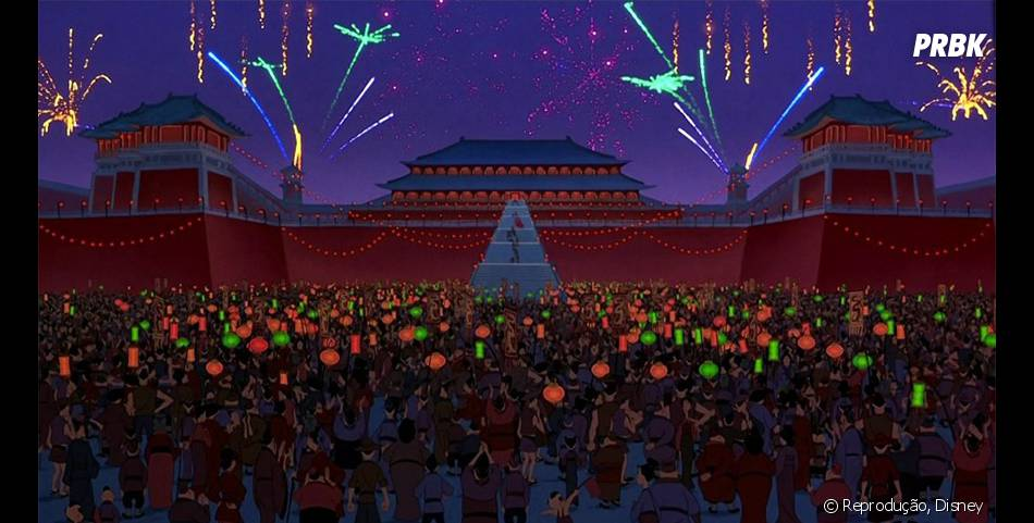 """Essa é uma das cenas mais bonitas de """"Mulan"""""""
