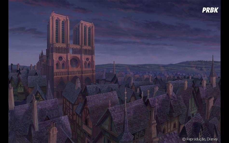 """""""O Corcunda de Notre Dame"""" tem uma das melhores paisagens de filme"""