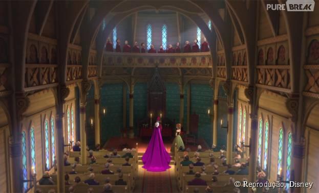 """Quem assistiu """"Frozen"""" e não lembra da linda capela do filme?"""