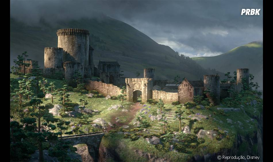 """Quem lembra do castelo de """"Valente""""?"""