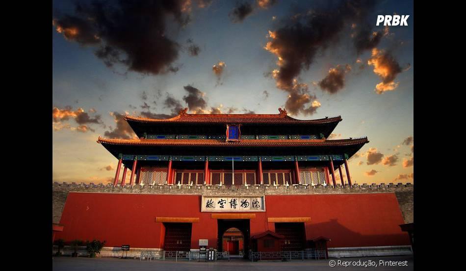 """Vários cenários de """"Mulan"""" foram inspiradas na Cidade Proibida, que fica na China"""