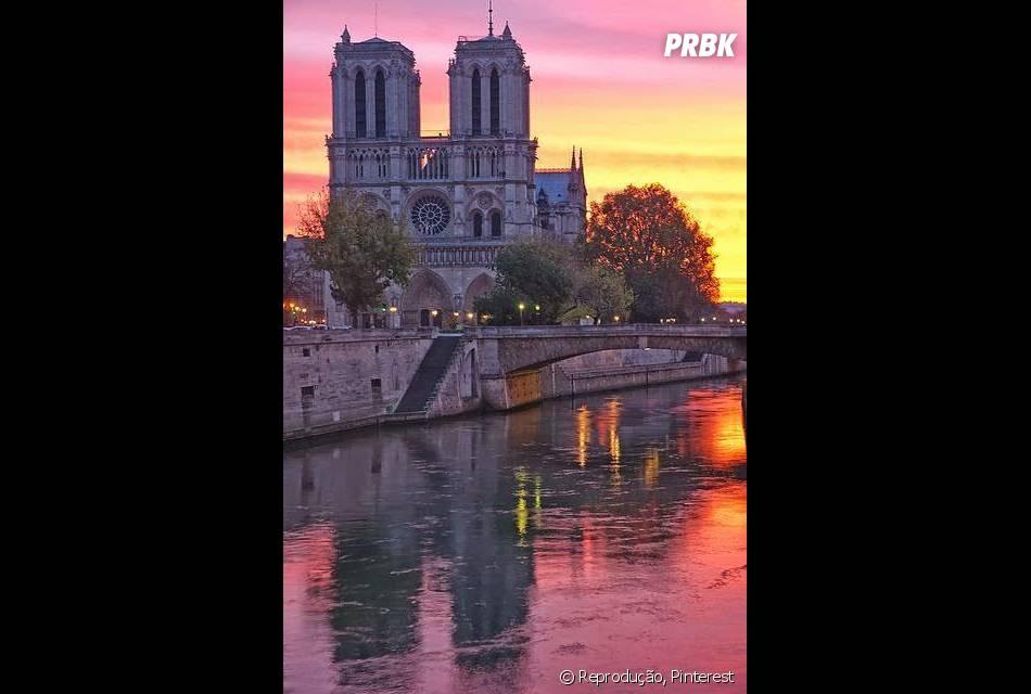 Óbviamente, a inspiração desse filme foi a Catedral de Notre-Dame de Paris