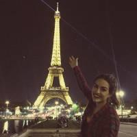 """Kéfera, do """"5inco Minutos"""", em Paris: veja as melhores fotos das férias da youtuber!"""