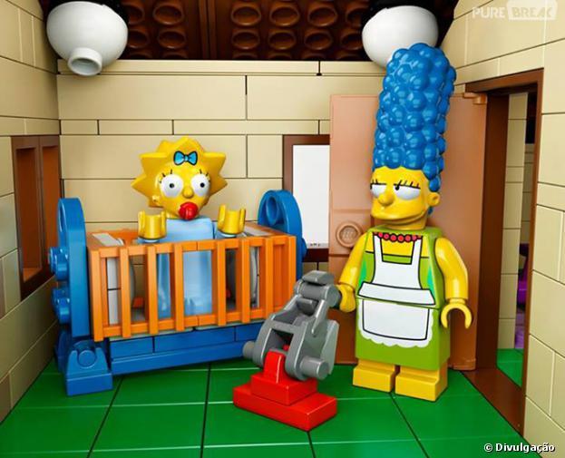 """""""Os Simpsons""""ganhou um kit da Lego com direito a casa, carro e até o famoso sofá!"""