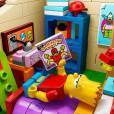 """Bart teve quarto recriado no Lego de """"Os Simpsons"""""""