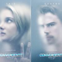 """De """"Convergente"""": Tris (Shailene Woodley) e Quatro (Theo James) arrasam em novos cartazes divulgados"""