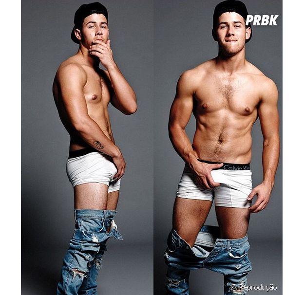 Nick Jonas em ensaio sensual