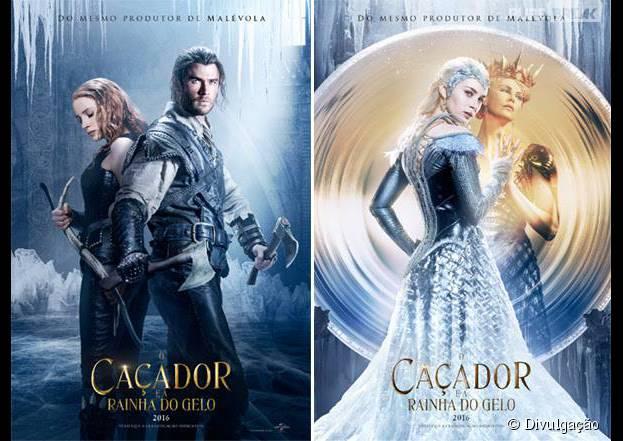 """""""O Caçador e a Rainha do Gelo"""", sequência de """"Branca de Neve e O Caçador"""", ganha teaser e cartazes sem Kristen Stewart"""