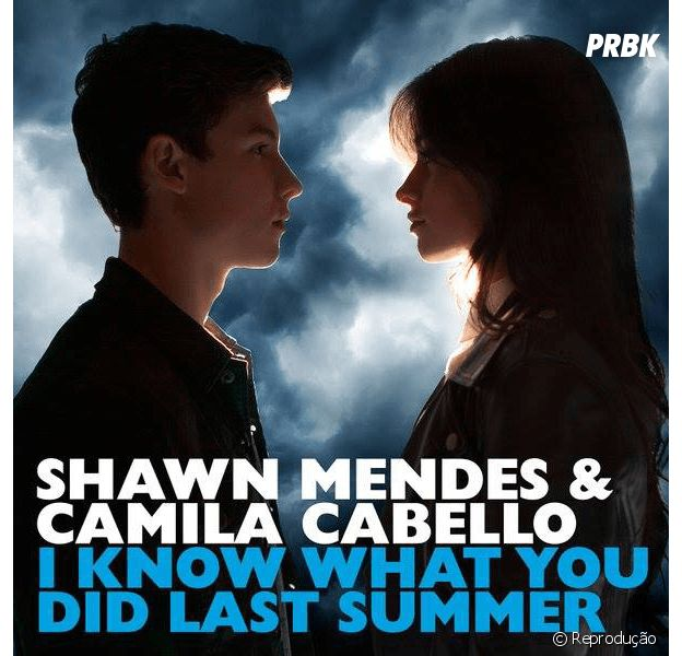 "Shawn Mendes e Camila Cabello, do Fifth Harmony, lançam o dueto ""I Know What You Did Last Summer"""