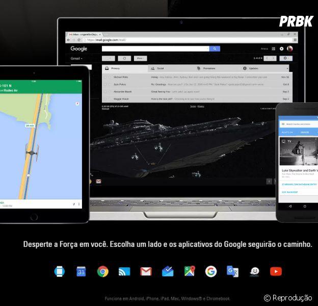 """De """"Star Wars XII: O Despertar da Força"""": personalização da Google funciona em vários dispositivos"""