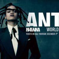 "Rihanna anuncia turnê mundial do álbum ""ANTI"" com The Weeknd, Big Sean e Travis Scott"