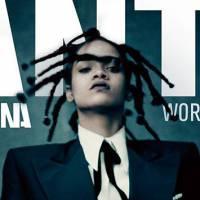 """Rihanna de visual novo para """"ANTI""""? Cantora é vista com cabelo azul e expectativa dos fãs aumenta!"""